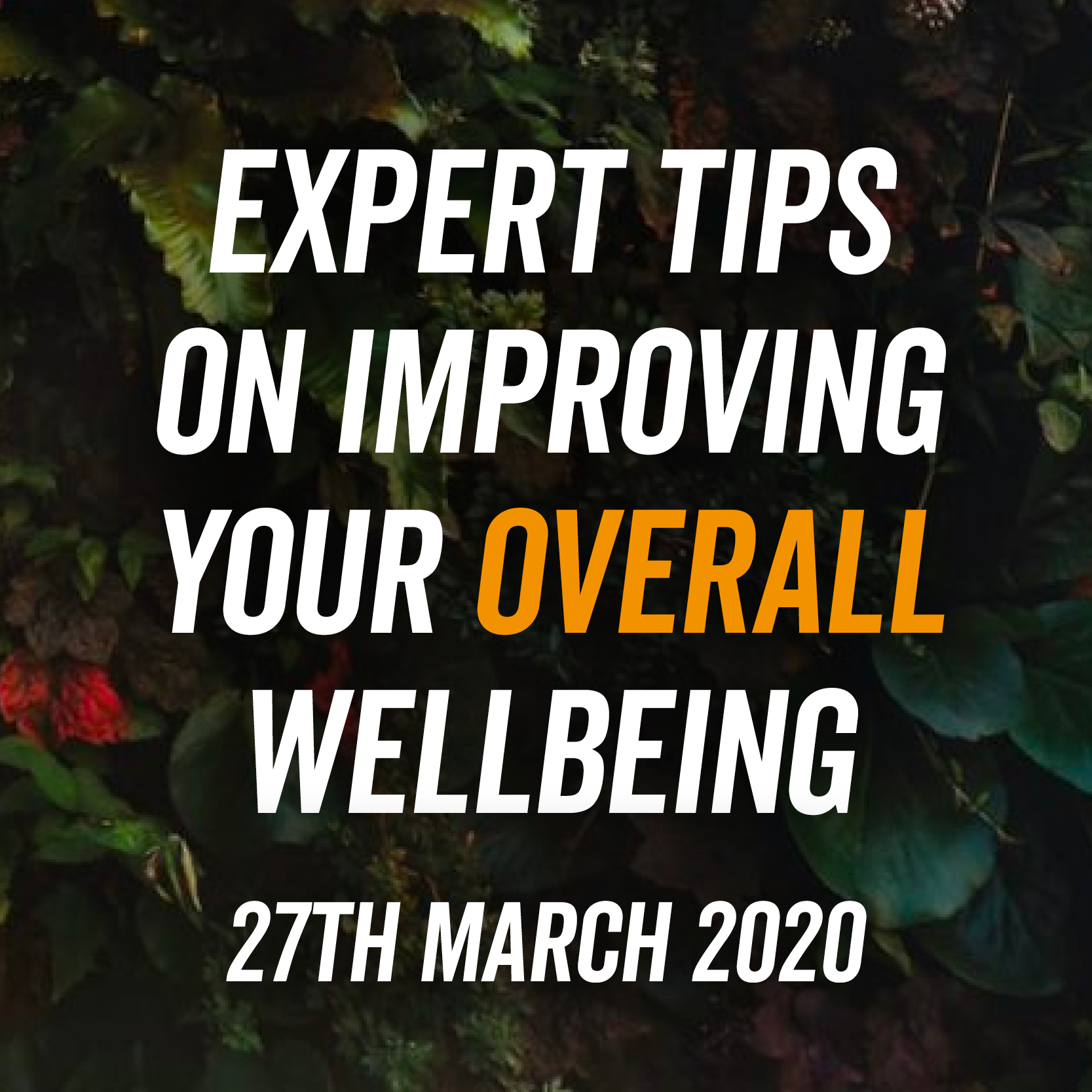 Expert Tips On Improving Your Overall Wellbeing