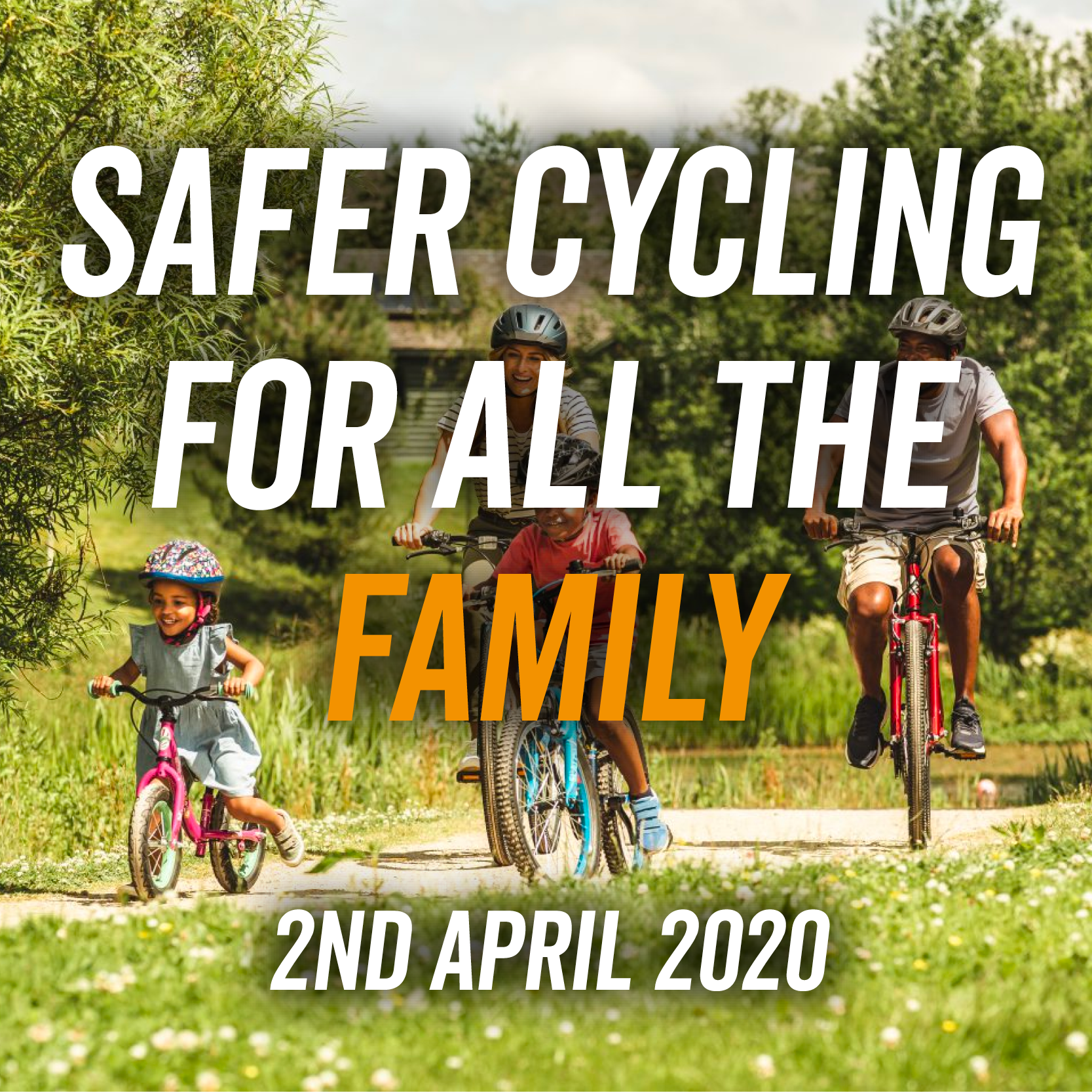 Safer Cycling For All The Family