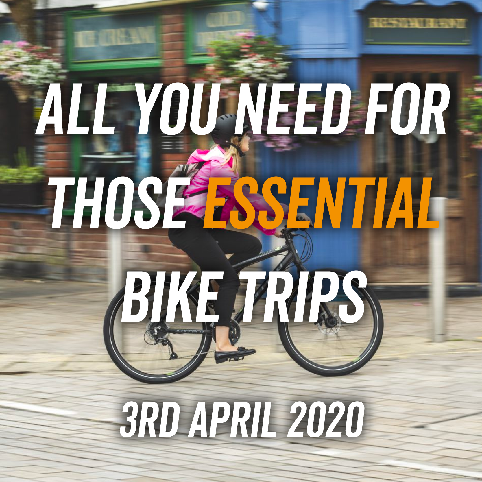 All You Need For Those Essential Bike Trips